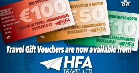 HFA Travel Gift Vouchers